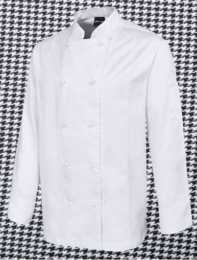 Mens L/S Vented Chefs Jacket