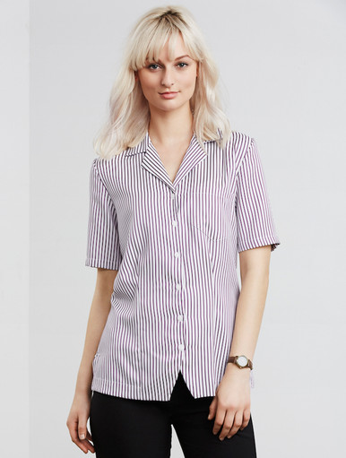 Oasis Stripe Overblouse