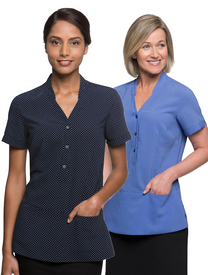 City Collection City Stretch Spot Tunic