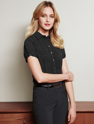 Ruby Spotted Blouse