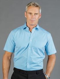 Mens S/S Gingham Check Shirt