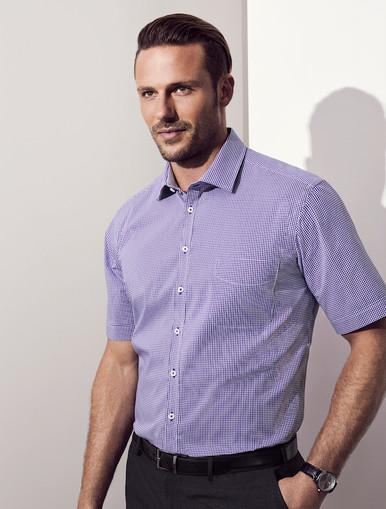 Mens Short Sleeve Newport Shirt