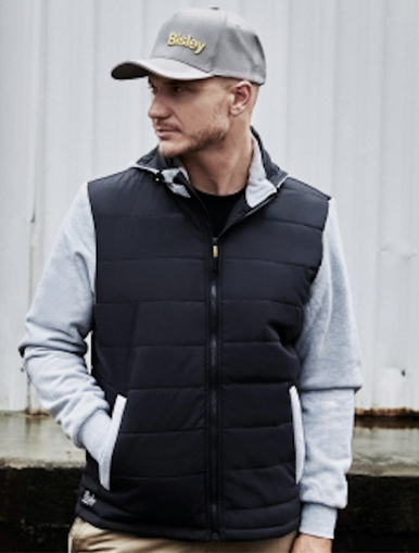 Contrast Puffer Jacket With Hood