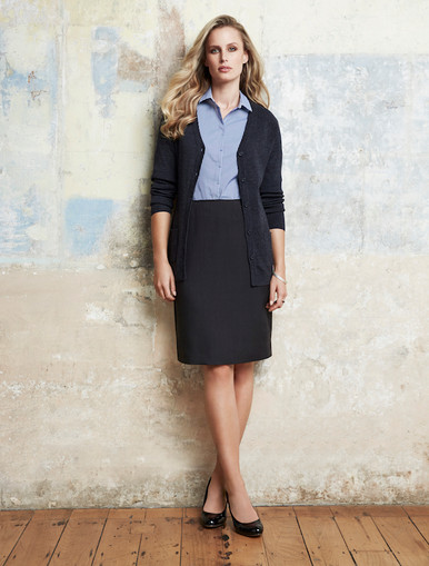 Bandless Lined Cool Stretch Skirt