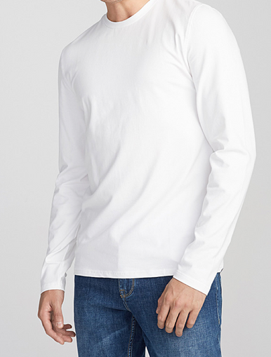 Long Sleeve Non Cuff T-Shirt