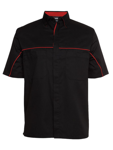 Black/Red Team Crew Shirt