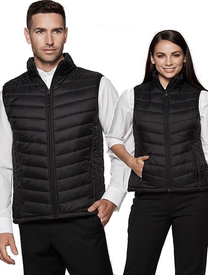 Mens and Ladies Snowy Puffer Vest