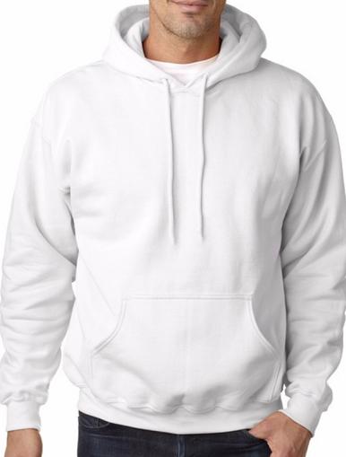 White Fleecy Hoodie