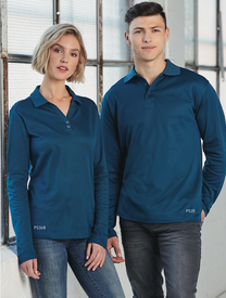 Victory Plus Mens & Ladies Long Sleeved Polo