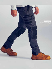 Flex & Move™ Stretch Utility Zip Cargo Pants