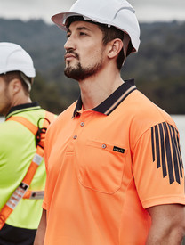 Flux Hi Vis S/S Polo