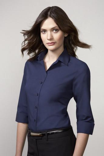 Verve Ladies Biz Collection 3/4 Sleeve Shirt