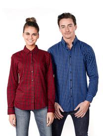 Mens & Ladies Barrett Plaid Shirt
