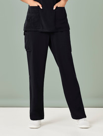 Avery Womens Straight Leg Scrub Pant