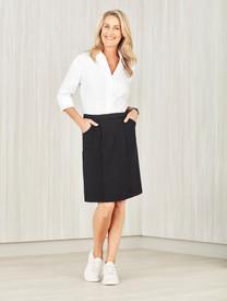 Womens Comfort Waist Cargo Skirt