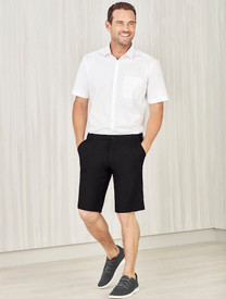 Mens Comfort Waist Cargo Shorts