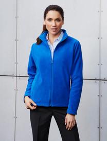 Biz Collection Plain Microfleece Ladies Jacket