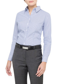Van Heusen Ladies 100% Cotton Stripe Shirt