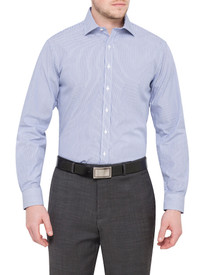 Van Heusen Mens 100% Cotton Stripe Shirt