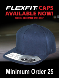 Flexfit Embroidered Flat Peak Cap 110F