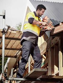 Mens Lightweight Drill Cargo Pants