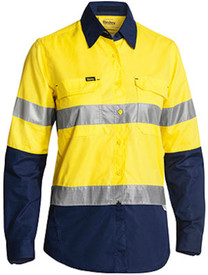 Women's Hi Vis Taped X-Airflow Ripstop Shirt
