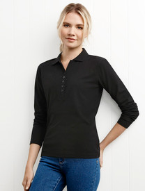Ladies Long Sleeved Polo