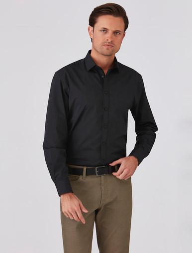 Mens Expresso 100% Cotton Shirt