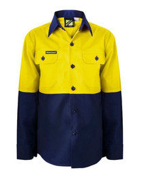 Kids Hi Vis Safety Shirt