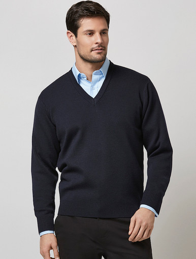 Biz Collection Woolmix Mens Pullover