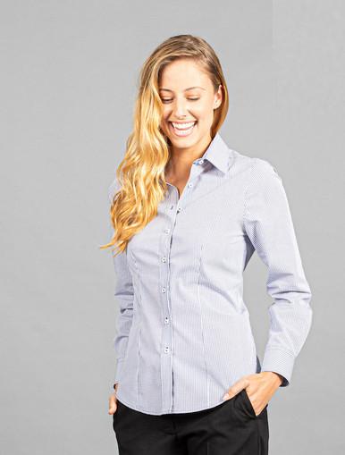 Fawkner Easy Care Ladies L/S Shirt