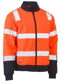 Hi Vis Taped Bomber Jacket