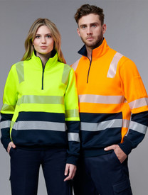 Hi Vis Safety Jumper- Vic Rail - Unisex