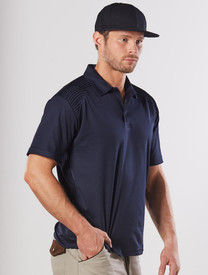 Unisex Cooldry® Shouler Panel Polo