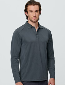 Mens Bamboo L/S Polo
