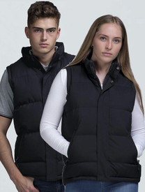 Junction Black Puffa Vest