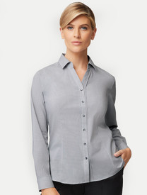 Womens Pinfeather Long Sleeved  Shirt