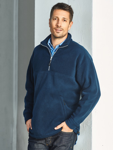Biz Collection Heavy Weight Adult 1/2 Zip Polar Fleece