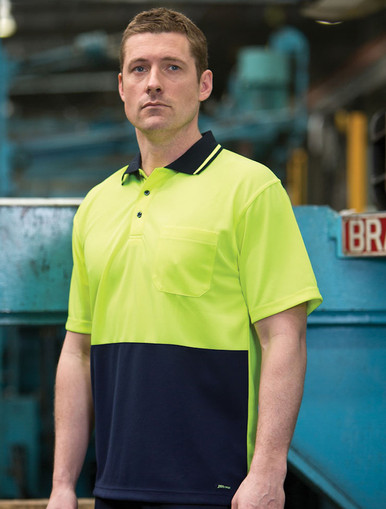 Traditional Hi Vis Non Cuff Polo (6HVNC)