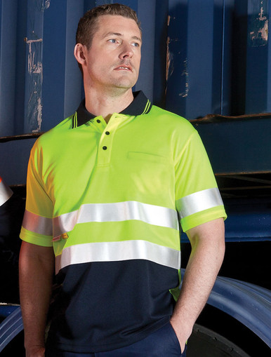 Traditional D/N Hi Vis S/S Polo