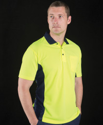 Sports Hi Vis S/S Polo