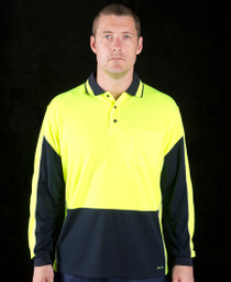 Gap Hi Vis L/S Polo