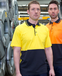 Cotton Hi Vis S/S Polo