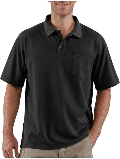 Bisley Mens Poly/Cotton Polo Shirt with Pocket