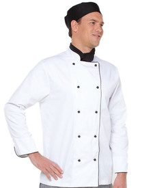 JB's Wear Long Sleeved Chefs Jacket