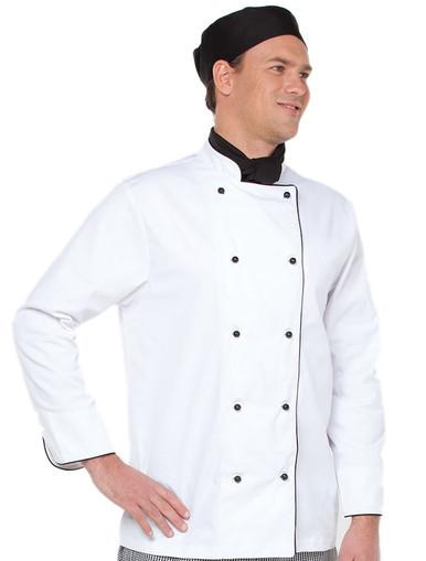 JB's Wear Long Sleeved Chefs Jacket