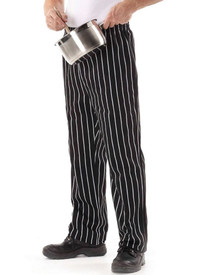 JB's Wear Striped Chef's Pant