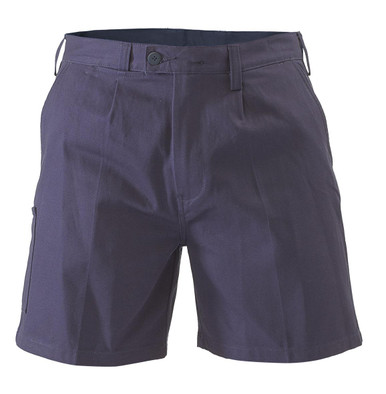 Bisley Mens Drill Work Short