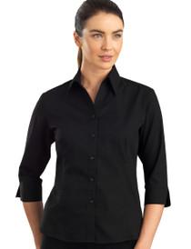 John Kevin 3/4 Sleeve Poplin Shirt