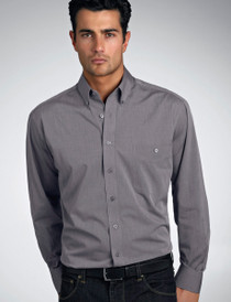 John Kevin Mens L/S Chambray Shirt - No Returns